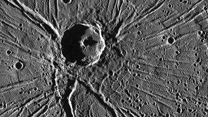 Mercury is pumelled by meteors