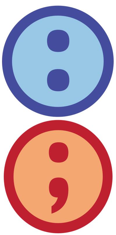 Colon and Semicolon