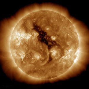 Sun Corona Hole