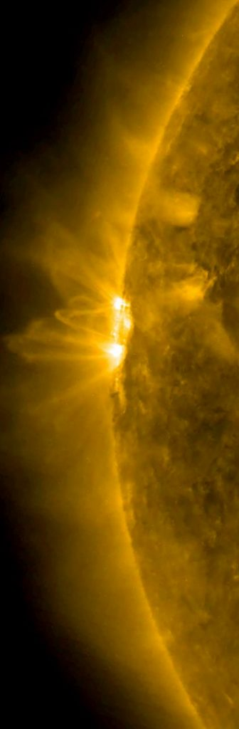 The sun really close up!