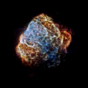Pupis A supernova remnant